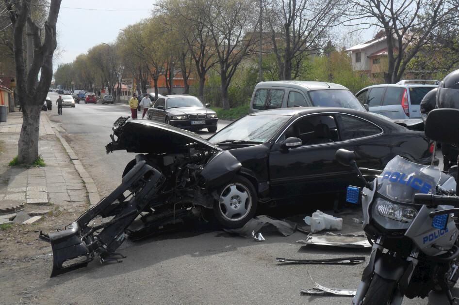 пътнотранспортно произшествие